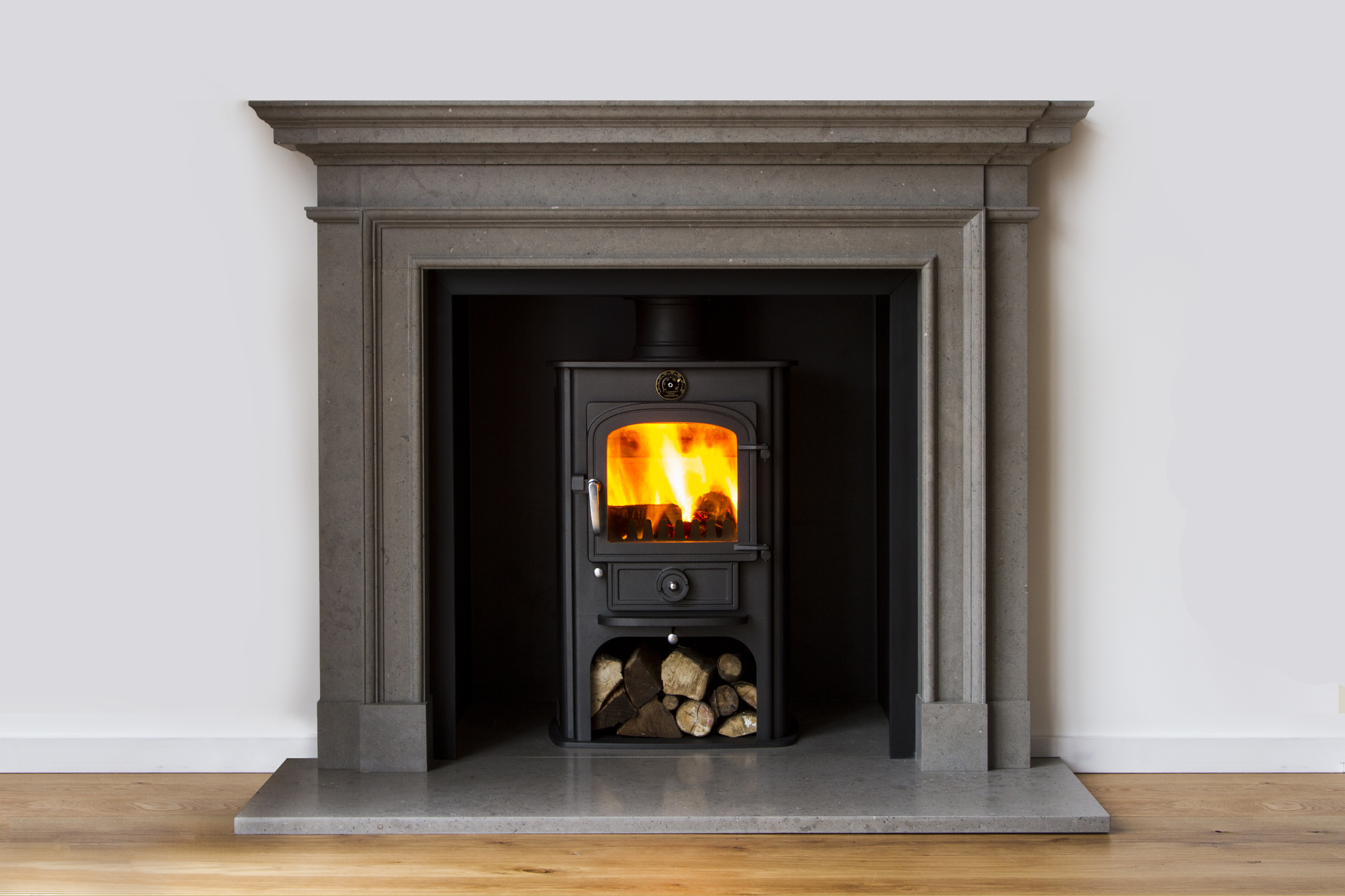 Fireplaces and surrounds we love stoves wood burners for Stove surrounds photos
